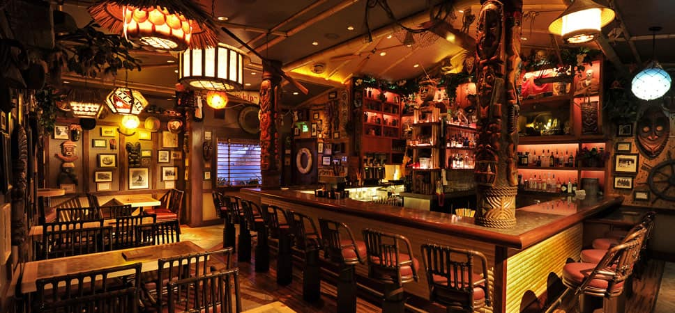 Trader Sams Enchanted Tiki Bar Dining Restaurants Disneyland