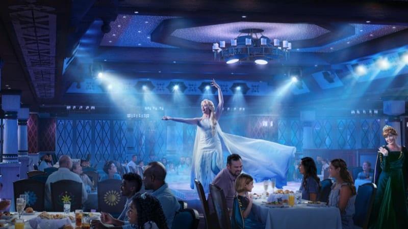 Arendelle: A Frozen Dining Adventure Mouse