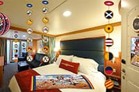 Nautical Character Stateroom Decor Experience