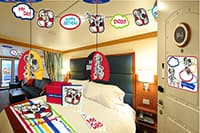Start the journey with magic! Celebrate a birthday at sea with these festive decorations that can greet you in your stateroom!