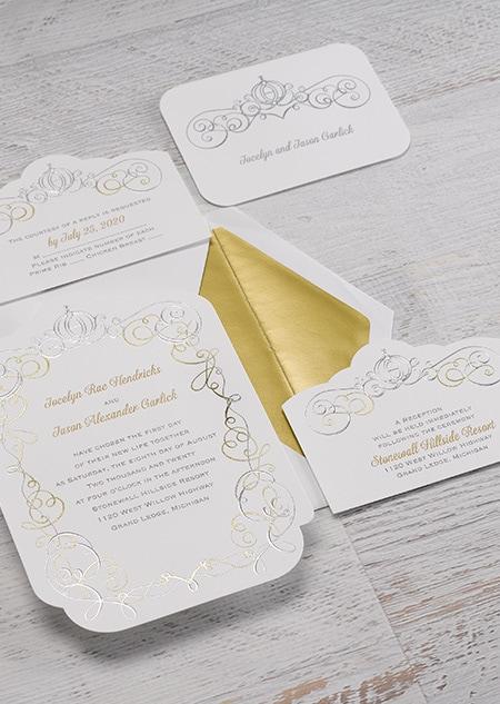 Cinderella Enchanted Invitations