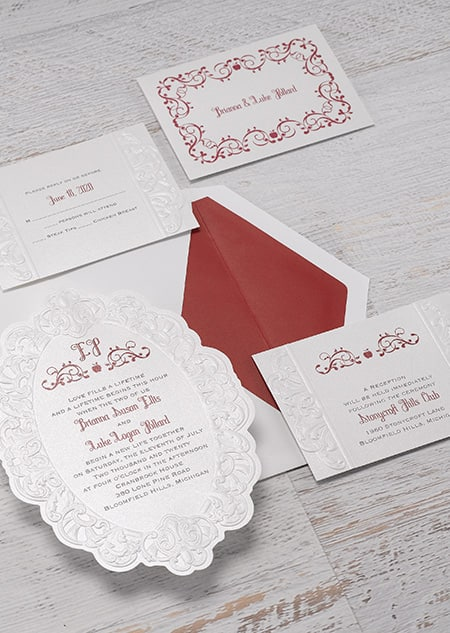 Snow White Mirror, Mirror Invitations