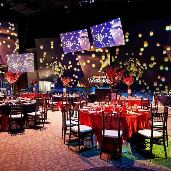 for more information on how to create your own show stopping reception decor at disney animation building be sure to ask your disney wedding planner