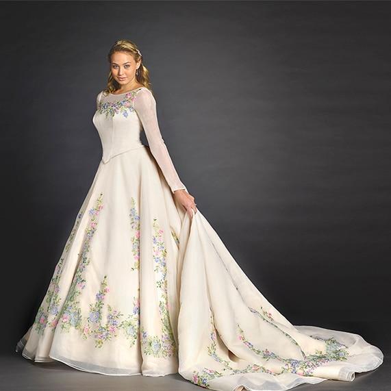 Limited Edition Disney Cinderella Movie Wedding Dress by Alfred ...