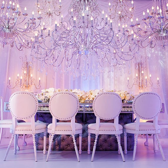 Decor Disney Cinderella Inspired Wedding Reception Disney Weddings