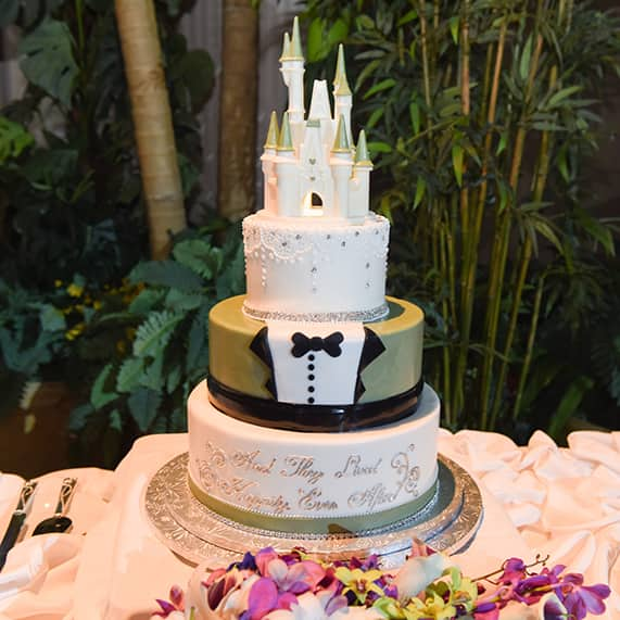 Wedding Cake Wednesday Cinderella Castle Tuxedo