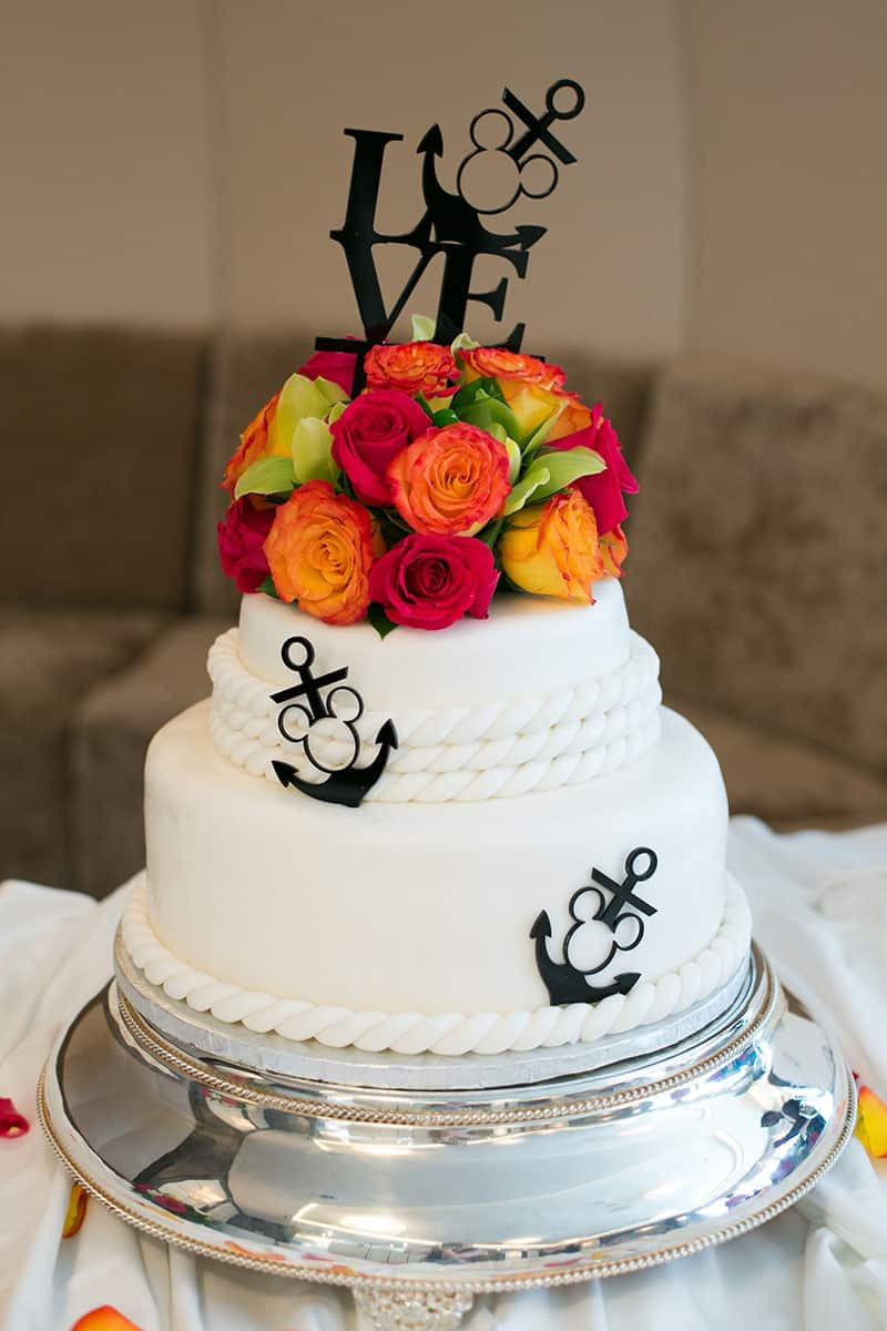From The Fondant Mimicking Sailing Rope To Custom Disney Cruise Line Cake Topper This Is One We Cannot Get Enough Of