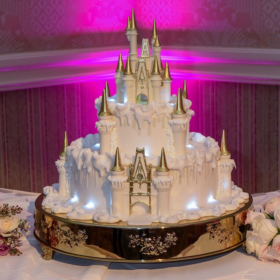 Disney wedding cakes gallery disneys fairy tale weddings wedding cake ideas junglespirit Choice Image
