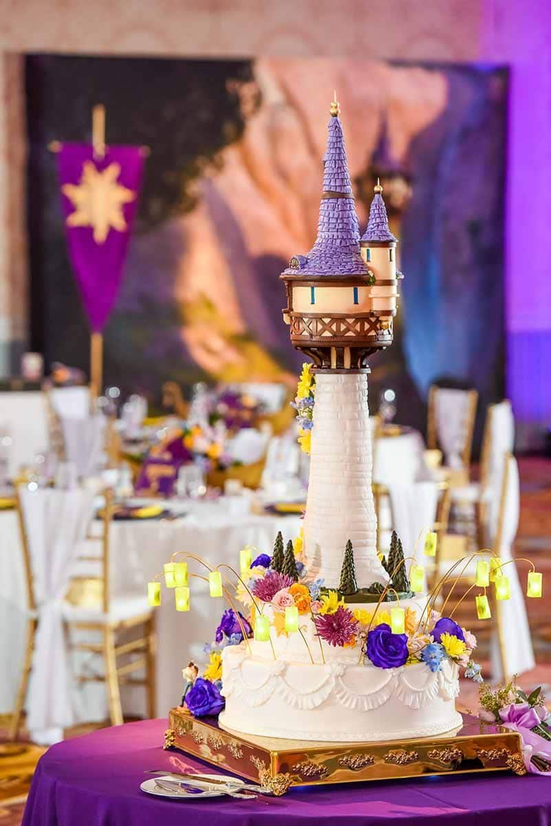 Wedding Cake Wednesday: Tangled Tower Disney Weddings