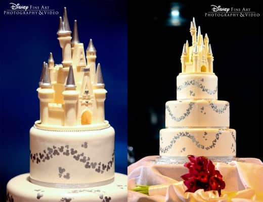 This Cake Topper Adds Just The Right Amount Of Disney Magic And Is Perfect Regal Adornment To Any Wedding Have A Delicious Wednesday