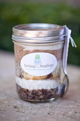 wedding cake in a jar wedding cake wednesday cake in a jar disney weddings 22964