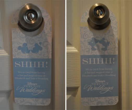 Best Custom Door Hangers | Disney Weddings ZC21