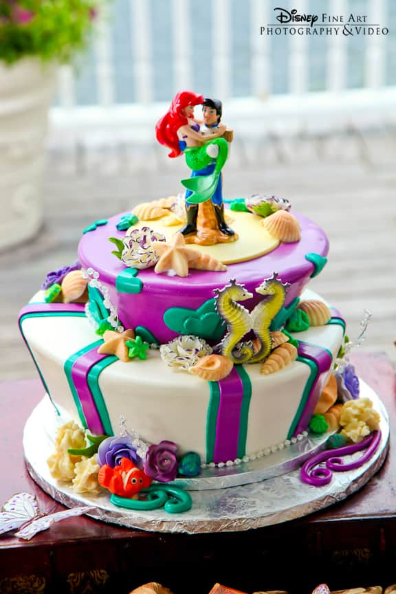 Wedding Cake Wednesday The Little Mermaid Disney Weddings