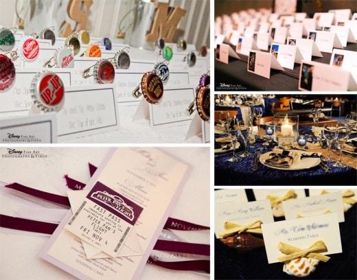 wediquette 101 escort cards vs place cards disney weddings