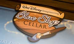 Sign for Walt Disney Imagineering Blue Sky Cellar