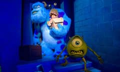 Characters from Monsters, Inc. Mike & Sulley to the Rescue!
