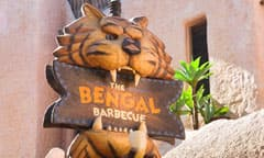 The Bengal Barbecue Sign