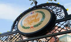 French Market Restaurant Sign