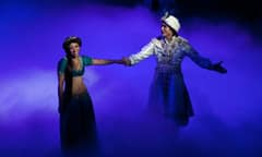 Magic Carpet at Disney's Aladdin - A Musical Spectacular