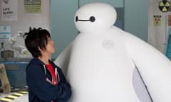 Meet Hiro and Baymax from Big Hero 6