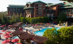 Disney's Grand Californian Hotel & Spa Pool Area