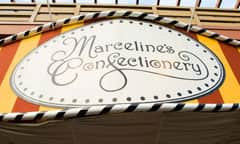 Sign for Marceline's Confectionery