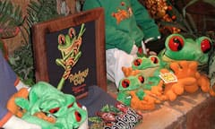 Merchandise from Rainforest Retail Shopping Village