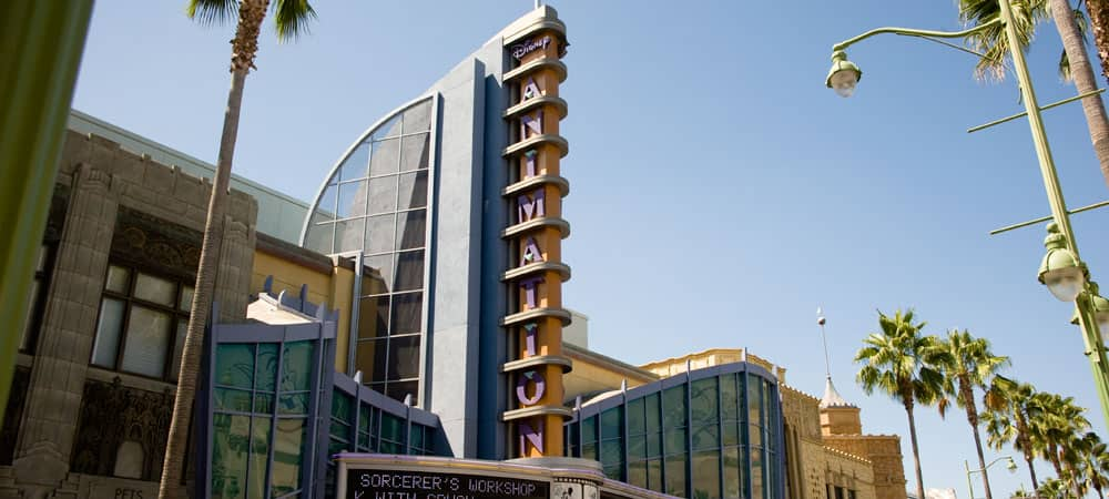 Disney Animation Marquee