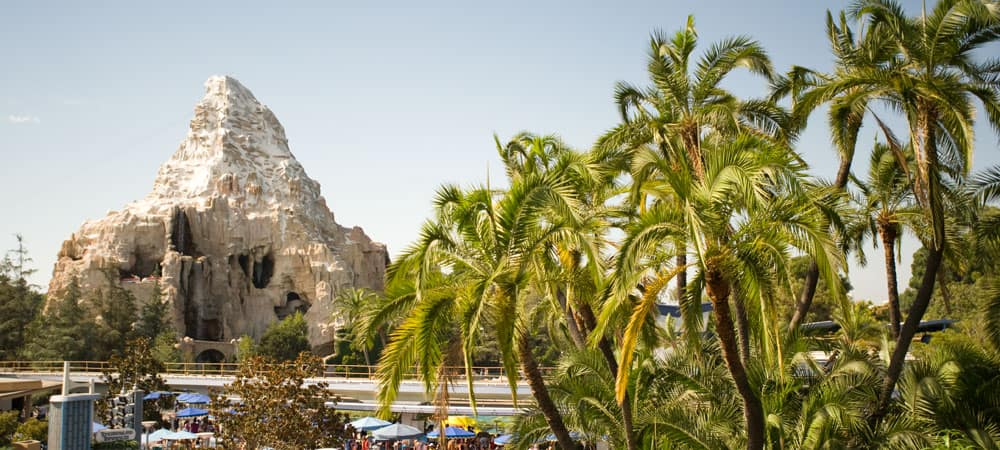 Matterhorn Mountain at Disneyland