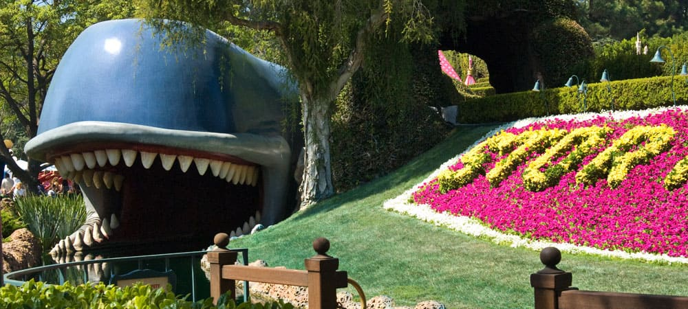 Whale's Mouth in the Storybook Land Canal Boats Ride