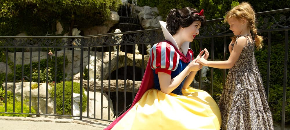 Snow White and a Young Girl