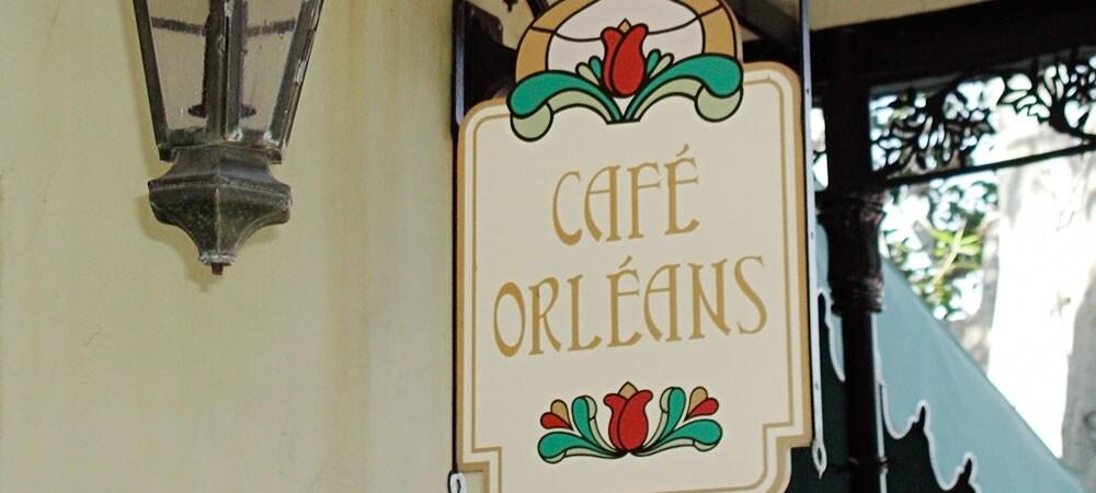 Café Orleans Sign