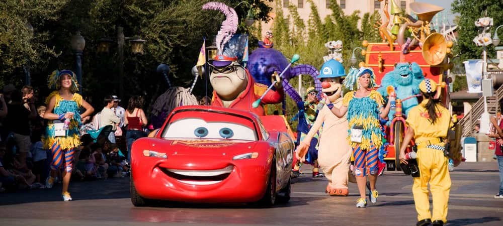 Pixar Characters Lead the Pixar Play Parade