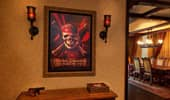 Framed artwork from the movie Disney's Pirates of the Caribbean: At World's End.