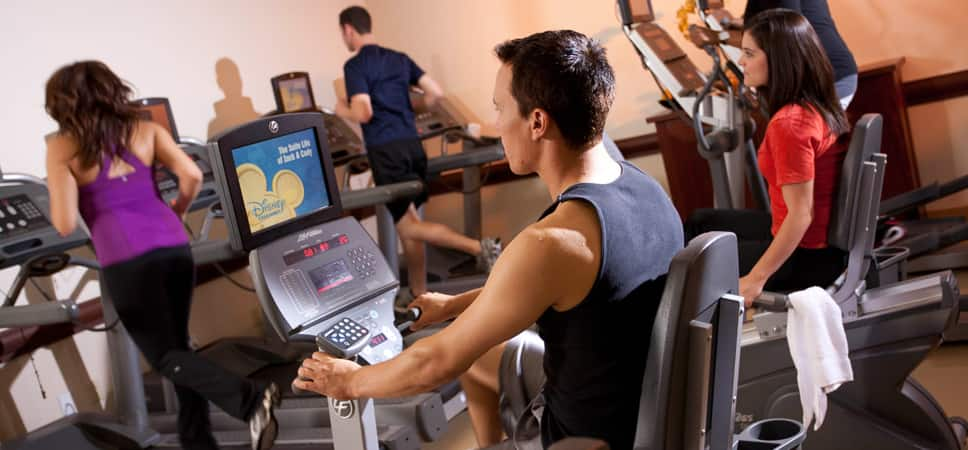 Guest stay in shape during their stay at the Disneyland Resort.