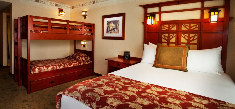 Disney Themed Hotel Rooms California
