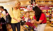 Inside the Build-a-Bear shop at the Downtown Disney District