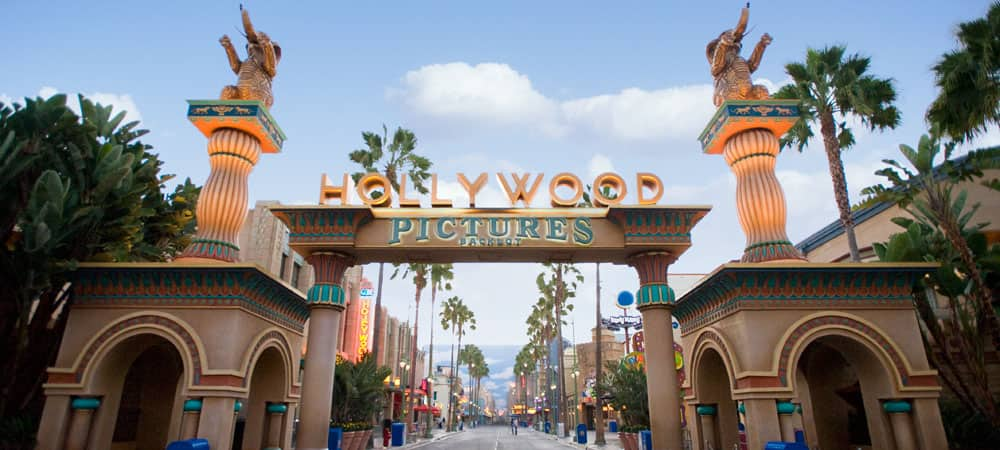 Entranceway to Hollywood Land