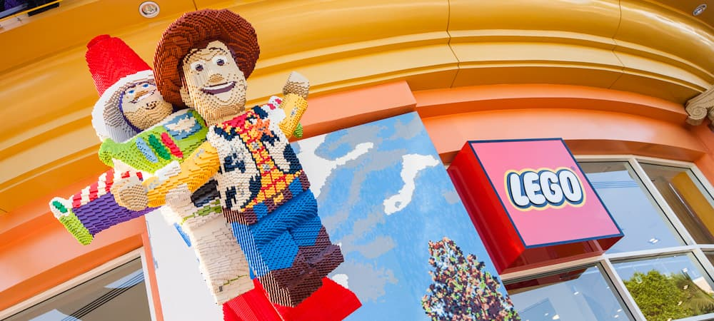 The LEGO Store | Shopping - Downtown Disney | Disneyland Resort