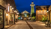 The Landing at Disney Springs featuring Erin McKenna Bakery NYC, The BOATHOUSE restaurant and more