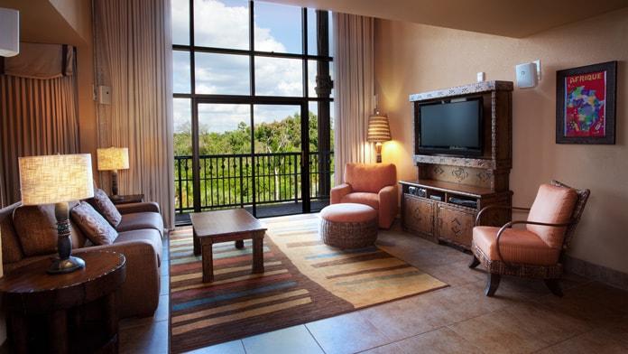 Rooms Amp Points Disney S Animal Kingdom Villas Kidani