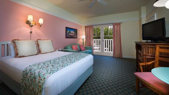 Standard View  Bedroom Boardwalk Villa