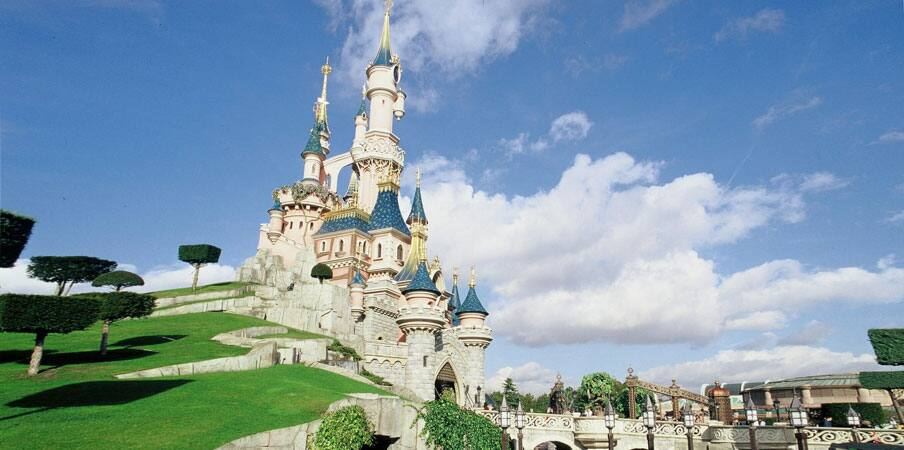 Sleeping Beauty Castle at Disneyland Park, Paris