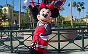 Minnie Mouse in Cheerleading Uniform
