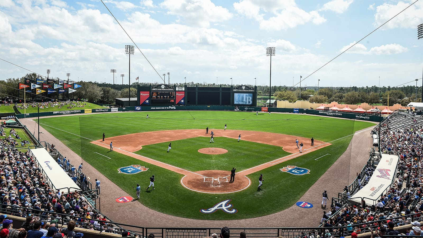 Display Larger Version Of Champion Stadium Is Home To Atlanta Braves Spring Training At ESPN Wide World Sports Complex