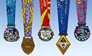 10th Anniversary Disneyland® Half Marathon Weekend Medals Revealed