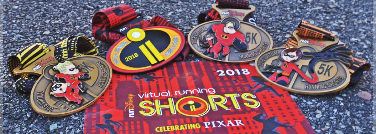 Virtual Running Shorts 5Ks and Challenge | Official Site | runDisney