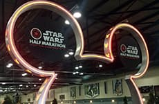 runDisney Health & Fitness Expo during the Star Wars Half Marathon – The Dark Side race weekend.