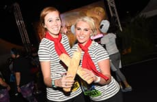 Runners at the Disney Wine & Dine 10K