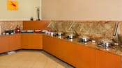 Residence Inn Anaheim Resort breakfast bar